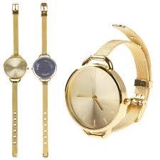 bracelet watches ebay images Round gold silver pretty designer womens girl bracelet ladies jpg
