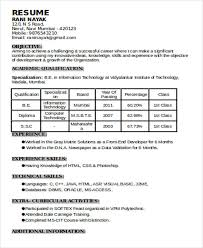 experience format resume 56 resume formats free premium templates