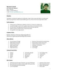 electronics engineer resume sample fresher resume templates