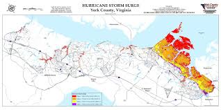 Virginia County Maps by Flood Zone U0026 Hurricane Storm Surge Maps York County Va