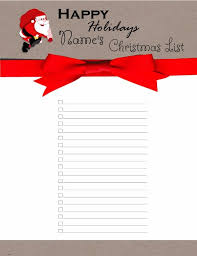 the christmas wish list free christmas list template customize online print at home