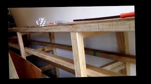 Work Benches With Storage How To Build A Great Work Bench With Lots Of Storage Youtube