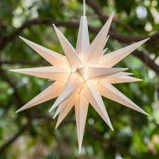 Christmas Lighted Moravian Star Indoor Outdoor Decoration by Moravian Stars 14