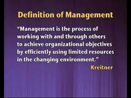 nature significance of management