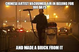 Meme China - brother nut in action china smog know your meme