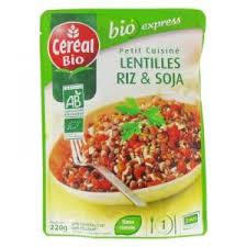 riz cuisiné petit cuisiné lentilles riz et soja de céréal bio avis et tests