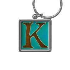 letter k key rings u0026 letter k key ring designs zazzle com au