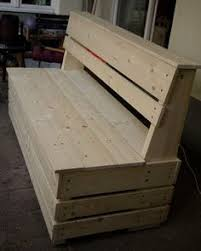 Garden Storage Bench Build by How To Build A Bench With Hidden Storage Extra Seating Decking