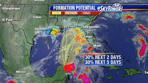 Map Of Gulf Side Of Florida by Watching Invest 99l As It Enters Gulf A Rainmaker For Florida