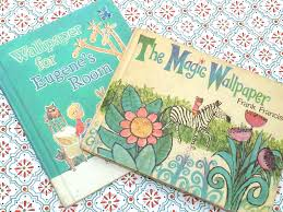 two children u0027s books about wallpaper hannah u0027s treasures vintage