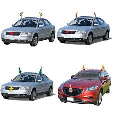 Christmas Reindeer Car Decoration Kit by Christmas Reindeer Car Costumes Collection On Ebay