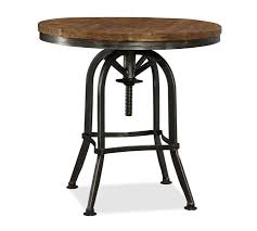 iron and wood side table wood and metal bedside table randallhoven com