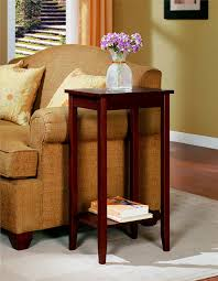 amazon com dhp rosewood tall end table kitchen u0026 dining