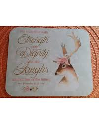 christian mothers day gifts get this amazing shopping deal on proverbs 31 mouse pad deer