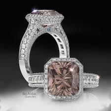 brown diamond engagement ring chocolate brown diamond rings from bez ambar