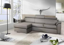 canapé avec pouf petit canapé 3 places avec chaise longue cuir shane