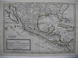 New Spain Map by Maps Antique United States Us States Louisiana