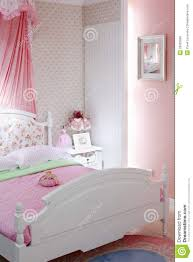 Stylish Pink Bedrooms - stylish pink bedroom with double bed stock photo image 28023890