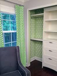 Chevron Pattern Curtain Panels Modern Curtain Panels With Chevron Pattern In Green And White