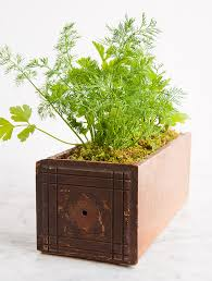 herb garden planter diy kitchen garden planter design sponge