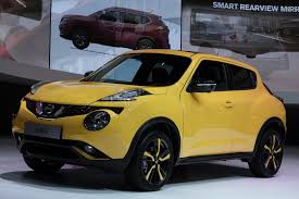 nissan juke yellow interior 2015 nissan juke bears 370z headlights and 1 2 liter turbo engine