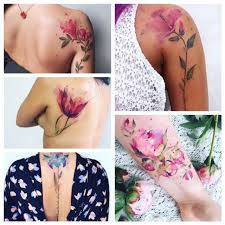 iso watercolor botanical tattoo artist does anyone know artists