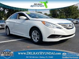 used 2014 hyundai sonata for sale delray fl