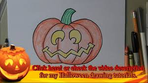 drawing halloween drawing ideas youtube