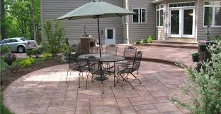 patio designs tips for placement and layout plans for concrete