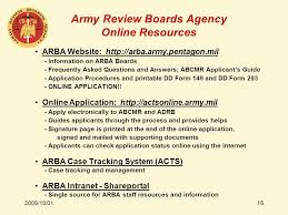 army review boards agency ppt video online download