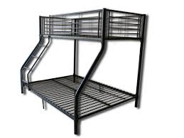 Bunk Beds  Twin Over Futon Bunk Bed With Mattress Included Full - Triple bunk beds with mattress