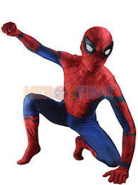 kids marvel civil war spiderman costume halloween superhero