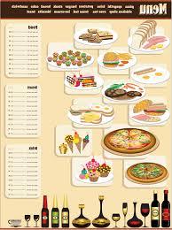 best free vector restaurant menu design cdr