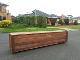 Wood Outdoor Storage Bench Build Your Own Outdoor Storage Bench Build Your Own Garden Storage