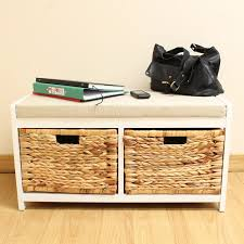 Bathroom Storage Box Seat 25 Best Wicker Baskets Images On Pinterest Wicker Baskets