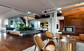 loft architektur modern loft with indoor garden and a clear eco guiding principle