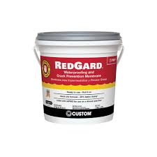 custom building products redgard 1 gal waterproofing and