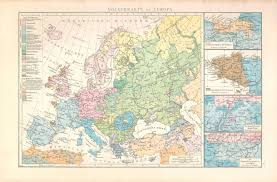 Map Of Europe Pre Ww1 by Ethnographic Map Of Europe 1881 2437x1603 Mapporn
