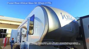 Wildcat Rv Floor Plans by Forest River Wildcat Maxx 5th Wheel 317rl Youtube