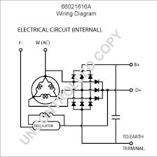 1 wire alternator wiring diagram with internal reg amp hei