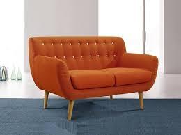 Vintage Modern Sofa Modern Settee Loveseat Dixie Furniture