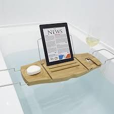 umbra aquala bathtub caddy umbra aquala bamboo bathtub caddy natural best bathtub 2017