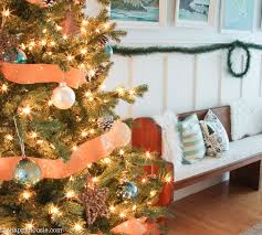 our rustic blue lake cottage coastal tree