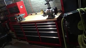 crafstman my custom craftsman rolling work bench for under 500 youtube