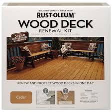 amazon com rust oleum 265130 wood deck renewal kit home improvement