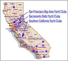 san francisco delta map san francisco bay area yacht clubs