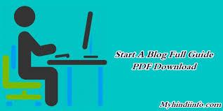 blogger guide pdf how to start a blog in 2018 beginner s guide full pdf free