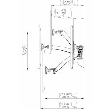 Imac Wall Mount Cotytech Mw Gsa Apple Monitor Single Spring Arm Wall Mount