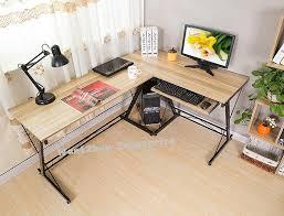 study table l l shape office computer laptop wooden end 1 4 2019 1 15 am
