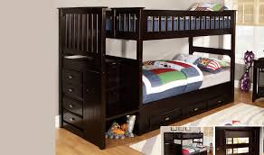 Discovery Bunk Bed Discovery World Furniture Premium Espresso Staircase